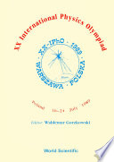 Xx International Physics Olympiad   Proceedings Of The Xx International Physics
