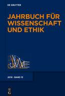 Jahrbuch fur Wissenschaft und Ethik 2010
