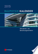 Bauphysik Kalender 2015