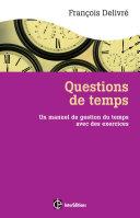Questions de temps