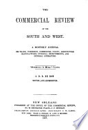 De Bow s Commercial Review of the South   West Book PDF