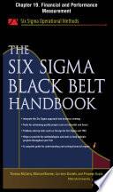 The Six Sigma Black Belt Handbook  Chapter 19   Financial and Performance Measurement