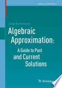 Algebraic Approximation  A Guide to Past and Current Solutions