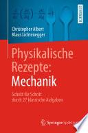 Physikalische Rezepte Mechanik