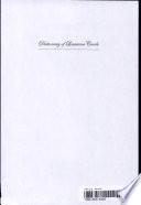 Dictionary of Louisiana Creole