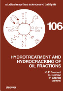Hydrotreatment And Hydrocracking Of Oil Fractions book