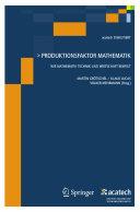 Produktionsfaktor Mathematik