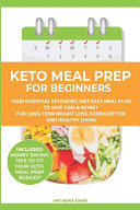 Keto Meal Prep For Beginners