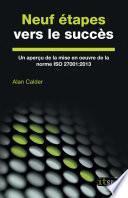 illustration Neuf étapes vers le succès