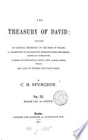 The treasury of David  containing an original exposition of the Book of psalms