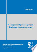 Managementgenese junger Technologieunternehmen