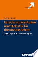 Forschungsmethoden und Statistik f  r die Soziale Arbeit