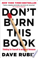Don t Burn This Book Book PDF