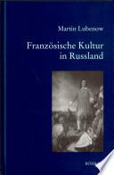 Franz  sische Kultur in Russland