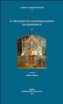 Il processo di canonizzazione di Celestino