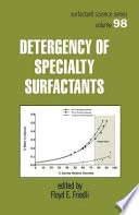 Detergency of Specialty Surfactants