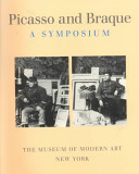 Picasso and Braque  a Symposium
