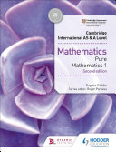 Cambridge International As A Level Mathematics Pure Mathematics 1 Second Edition
