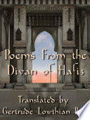 Poems From The Divan Of Hafiz book