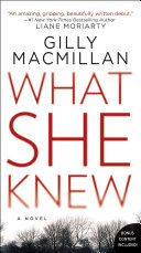 What She Knew Book