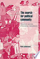 The Search for Political Community