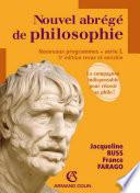 Nouvel abr  g   de philosophie