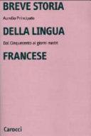 Breve storia della lingua francese