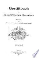 Gestütbuch der holsteinischen Marschen