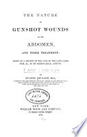 The Nature of gunshot wounds of the abdomen