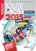 Toute l  actu 2015 Sujets et chiffres de l  actualit   2015   Concours   examens 2016