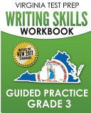Virginia Test Prep Writing Skills Workbook Guided Practice  Grade 3