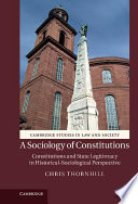 A Sociology of Constitutions