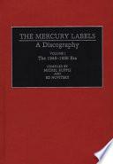The Mercury Labels  The 1945 1956 era