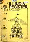 Illinois Register book