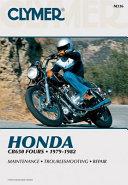 Honda CB650 Fours 79 82