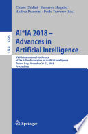 Ai Ia 2018 Advances In Artificial Intelligence