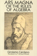 Ars Magna Or The Rules of Algebra