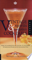 Vintage Spirits Forgotten Cocktails