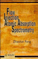 Flow injection atomic absorption spectrometry