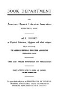American Physical Education Review Book PDF