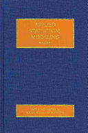 Applied Statistical Modeling book
