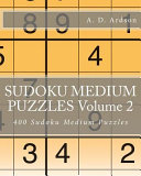 Sudoku Medium Puzzles Volume 2