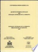 Enfoque centrado en la persona: bibliografía en español