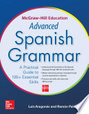 McGraw Hill Education Advanced Spanish Grammar