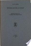 Spinoza en De La Court