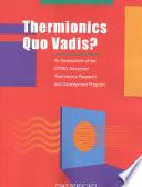 Thermionics Quo Vadis