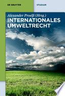 Internationales Umweltrecht