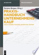 Praxishandbuch Unternehmenskauf