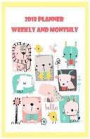 2018 Planner Weekly and Monthly