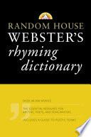 Random House Webster's Rhyming Dictionary